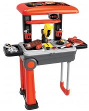 Детска работилница Buba Deluxe tool set - 2 в 1 -1