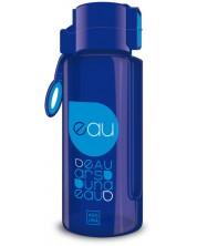 Бутилка за вода Ars Una - Синя, 650 ml -1