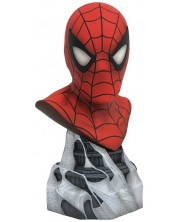 Бюст Legends In 3D Marvel: Spider-Man, 26 cm  -1