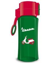 Бутилка за вода Ars Una Vespa - 450 ml, зелена -1