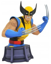 Бюст Diamond Select Marvel Animated X-Men - Wolverine, 15 cm