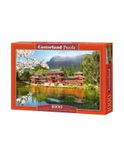 Пъзел Castorland от 1000 части - Реплика на храма Хошокан в Киото
