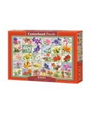 Пъзел Castorland от 1000 части - Винтидж флора -1