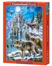 Пъзел Castorland от 1500 части - Нощни вълци -1