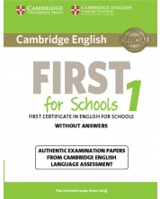 Cambridge English First for Schools 1 for Revised Exam from 2015 Student's Book without Answers