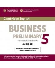 Cambridge English Business 5 Preliminary Audio CD -1
