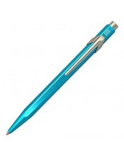 Автоматична химикалка Caran d'Ache 849 Metal Collection Turquoise – Син, 0.7 mm -1