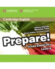 Cambridge English Prepare! Level 6 Class Audio CDs (2) -1