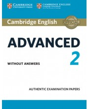 Cambridge English Advanced 2 Student's Book without answers -1