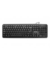 Клавиатура Canyon CNE-CKEY01 - USB, Bulgarian -1