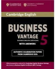 Cambridge English Business 5 Vantage Student's Book with Answers -1