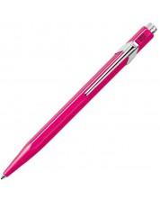 Автоматична химикалка Caran d'Ache 849 Pop Line Collection Pink – Син -1