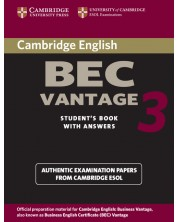 Cambridge BEC Vantage 3 Student's Book with Answers -1