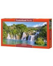 Пъзел Castorland от 4000 части - Водопадите в Крка, Хърватия