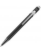Автоматична химикалка Caran d'Ache 849 Metal Collection Metallic Black – Син -1