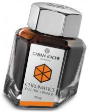 Мастило за писалка Caran d'Ache Chromatics – Оранжев, 50 ml -1
