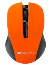 Безжична мишка CANYON Mouse CNE-CMSW1 800/1000/1200 dpi, 4 бутона, Оранжева -1