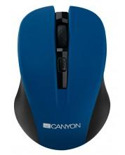 Безжична мишка CANYON CNE-CMSW1 800/1000/1200 dpi, 4 бутона, Синя -1