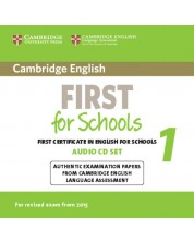 Cambridge English First for Schools 1 for Revised Exam from 2015 Audio CDs (2)