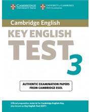 Cambridge Key English Test 3 Student's Book