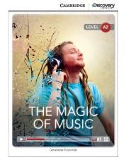 Cambridge Discovery Education Interactive Readers: The Magic of Music - Level А2 (Адаптирано издание: Английски)