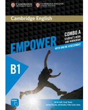 Cambridge English Empower Pre-intermediate Combo A with Online Assessment -1