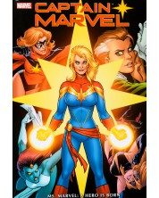 Captain Marvel: Ms. Marvel - A Hero is Born -1
