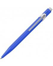 Автоматична химикалка Caran d'Ache 849 Metal Collection Blue – Син -1