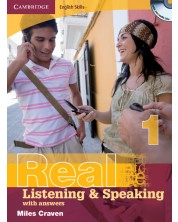 Cambridge English Skills Real Listening and Speaking 1 with Answers and Audio CD
