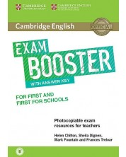 Cambridge English Exam Booster for First and First for Schools with Answer Key with Audio -1
