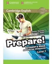 Cambridge English Prepare! Level 7 Student's Book and Online Workbook