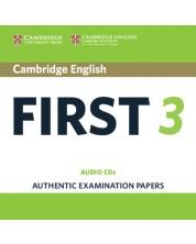 Cambridge English First 3 Audio CDs -1