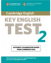 Cambridge Key English Test 2 Student's Book