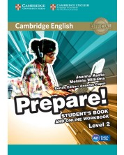 Cambridge English Prepare! Level 2 Student's Book and Online Workbook