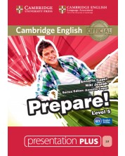 Cambridge English Prepare! Level 5 Presentation Plus DVD-ROM -1