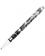 Автоматична химикалка Caran d'Ache 849 Paper Cut – Син -1