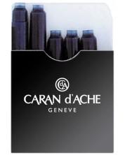 Патрончета за писалка Caran d'Ache – Черен, 5 броя