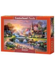 Пъзел Castorland от 3000 части - Красив пейзаж