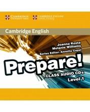 Cambridge English Prepare! Level 1 Class Audio CDs (2) -1
