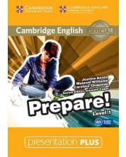 Cambridge English Prepare! Level 1 Presentation Plus DVD-ROM -1