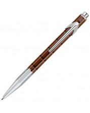 Автоматична химикалка Caran d'Ache 849 Chocolate – Син -1