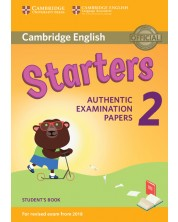 Cambridge English Young Learners 2 for Revised Exam from 2018 Starters Student's Book