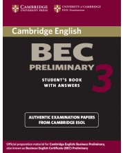 Cambridge BEC Preliminary 3 Student's Book with Answers -1
