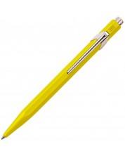Автоматична химикалка Caran d'Ache 849 Metal Collection Yellow – Син -1