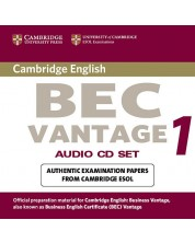 Cambridge BEC Vantage Audio CD Set (2 CDs) -1