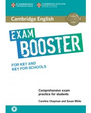 Cambridge English Exam Booster for Key and Key for Schools without Answer Key with Audio -1