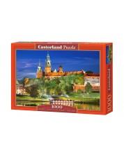 Пъзел Castorland от 1000 части - Замъка Вавел в Полша