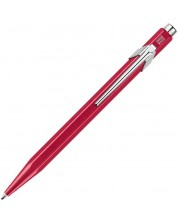 Автоматична химикалка Caran d'Ache 849 Metal Collection Metallic Red – Син -1