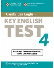 Cambridge Key English Test 4 Student's Book