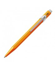 Автоматична химикалка Caran d'Ache 849 Metal Collection Flourescent Orange – Син -1